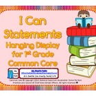 First Grade Teacher/Kid Friendly Common Core Style Cards