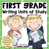 First Grade Writing Units of Study {Supports the Common Core}