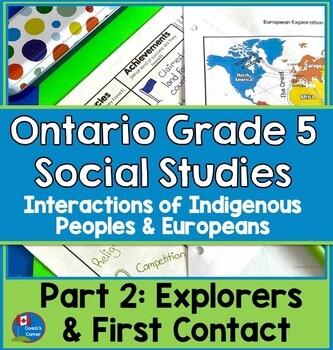 First Nations and Europeans in New France - Explorers and Early Contact