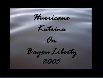 First Person Hurricane Katrina Visual Diary with Facts and