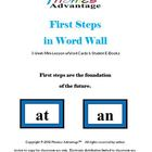 First Steps in Word Wall 3-Week Mini Lesson w/Word Cards &