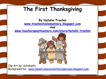 First Thanksgiving Unit