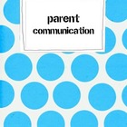 First Week Parent Communication Forms Chic Geek