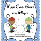 First and Second Grade Winter Math Centers