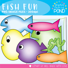 Fish Fun - Graphics for Teaching Resources and Classrooms