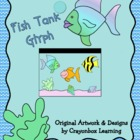 Fish Tank Glyph, Graphing Activity, Ocean Theme, Craftivity
