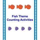 Fish Themed Math Number Activities