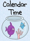Fish and Polka Dots Calendar Kit