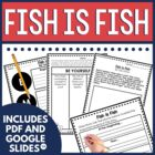 Fish is Fish Guided Reading Unit by Leo Lionni Ocean Theme
