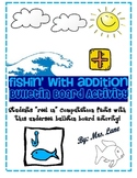 Fishin' With Addition Bulletin Board Activity! FREE! FREE! FREE!