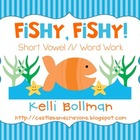 Fishy Fishy! {Short vowel /i/ Word Work}