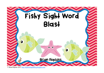 Fishy Sight Word Blast