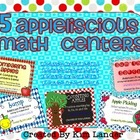 Five Apple-liscious Math Centers