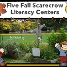 Five Fabulous SCARECROW Literacy Centers for Word Work