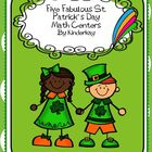 Five Fabulous St. Patricks Day Math Centers