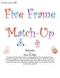 Five Frame Match-Up File Folder Game