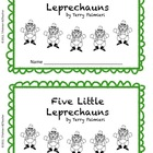 Five Little Leprechauns poem and emergent reader