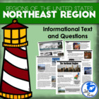 Regions of the United States: Northeast, Informational Tex