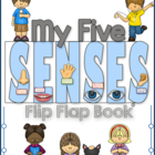 Five Senses Flip Flap Book