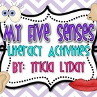Five Senses Literacy Activities for Stations