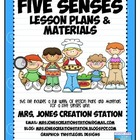Five Senses & More...Lesson Plans and Materials