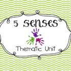 Five Senses Multi-Sensory Thematic Unit