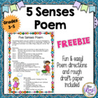 FREE! Five Senses Poetry Lesson - Accompanies my poetry un