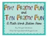 Five and Ten Frame Fun: For Math Workstations