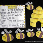 Flannel Board Felt Story Set Bees for Preschool Kindergarten