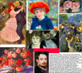 Flash Cards, 18, Impressionists & Post Impressionists Artists