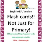 Flash cards- Not just for Primary Students! English version