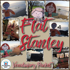 Flat Stanley Vocabulary Packet w/ Quiz