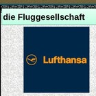 Fliegen (Air travel in German) power point