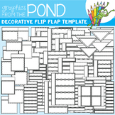Flip Flap Template Set - Decorative - Great for Interactiv