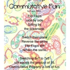 Flip Flop Commutative Fun Poem FREEBIE