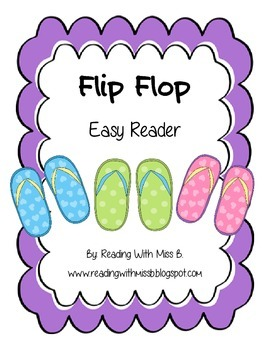 Flip Flop Easy Reader Flipbook