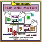 Flip and Match Flip Books