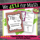 Flip for Math:  Step-By Step, 3-in-1, Flip Book for Dividi