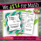 Flip for Math:  Step-By Step, 3-in-1, Flip Book for Short