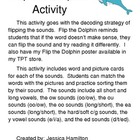 Flip the Dolphin Decoding Activities