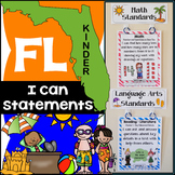 Florida Standards - Kindergarten Math & ELA Bundle