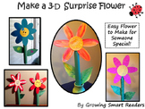 Flower Craft {Super Simple & Easy with Pattern}