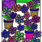 Flower Frenzy {Creative Clips Digital Clipart}