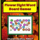 Flower Sight Word Board Game - 1st Grade
