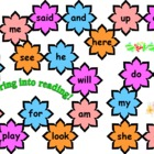 Flower Sight Word Board Game - Kindergarten