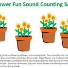 Flower Sound Sort - for counting individual phonemes
