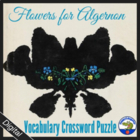 Flowers for Algernon Vocabulary Crossword Puzzle