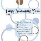 Fluency Assessment Pack - Reading