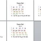 Fluency Charts for struggling readers!