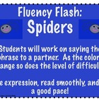 Fluency Flash Spiders